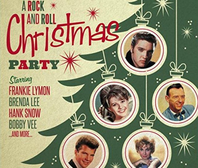 Various Artists A Rock And Roll Christmas Party Amazon Com Music