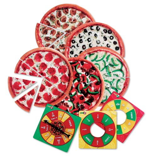 Learning Resources Pizza Fraction Fun Jr. Game