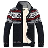 Product review for 2017 Fashion Winter Cotton Knitted Cardigan Men's Casual Thick Warm Sweater