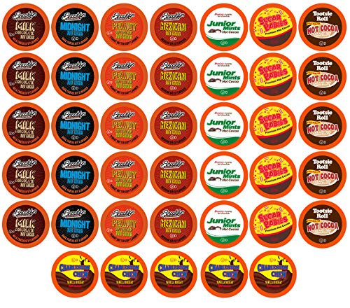 BEST Of The BEST Hot Chocolate Pods for Keurig K Cup Brewers, Variety Pack, 40Count
