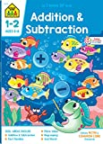 School Zone - Addition & Subtraction Workbook - 64 Pages, Ages 6 to 8, Grades 1 to 2, Addition Facts, Subtraction Facts, Fact Tables and Families (School Zone I Know It! Workbook Series)