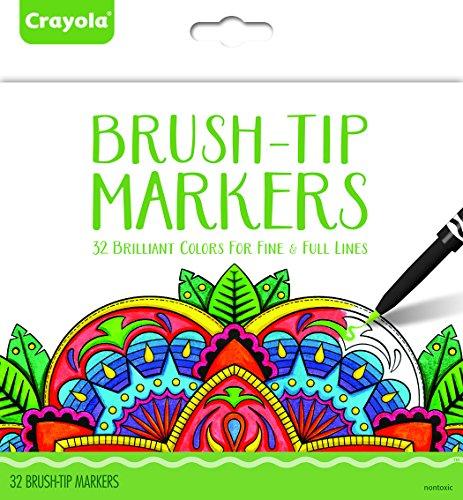 Crayola 32ct Brush Tip Marker Set
