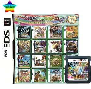 208 in 1 Game Cartridge Multicart, Game Pack Card Super Combo compatible with Nintendo DS/NDS/NDSL/NDSi/3DS/2DS XL/LL