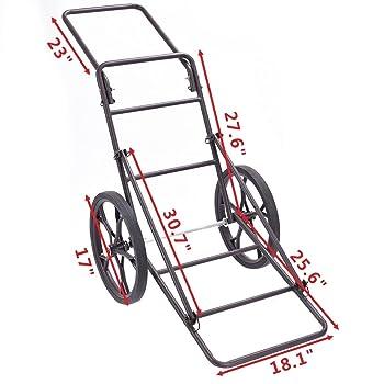 Goplus Folding Deer Game Cart