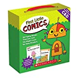 First Little Comics Parent Pack: Levels C & D: 20 Funny Books That Are Just the Right Level for New Readers