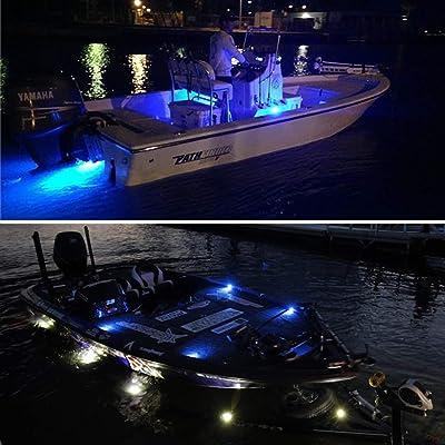Buy Boaton Boat Led Night Fishing Lights Courtesy Lights Deck Lights Marine Boat Led Lights Boat Interior Lights Yacht Lights For Pontoon Boat Bass Boat Yacht Online In Indonesia B08bg3ry4l