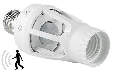 Détecteur de mouvement et lampadaire