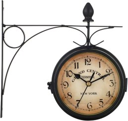 TIEMORE Retro Double-Sided Wall Clock