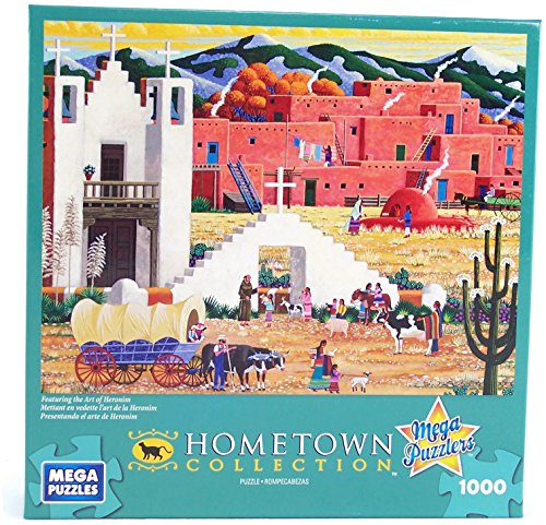 Hometown Collection Blessing of the Animals 1000 Piece Jigsaw Puzzle By Heronim