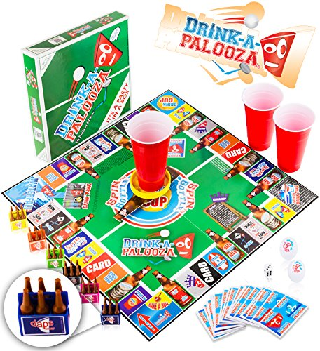 DRINK-A-PALOOZA Board Game: Combines...