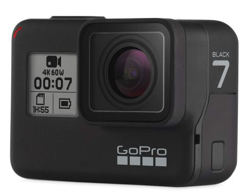GoPro HERO7 Black CHDHX-701-FW ゴープロ ヒーロー7 ブラック ウェアラブル アクション カメラ