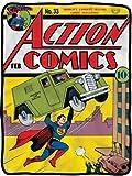 """Superman Action Comics 45"""" x 60"""" Fleece Blanket"""