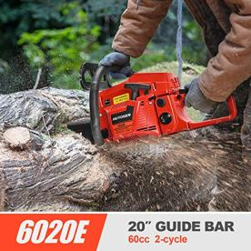 HUYOSEN-60CC-2-Stroke-Gas-Powered-Chainsaw-20-Inch-Chainsaw-Cordless-Handheld-Gasoline-Power-Chain-Saws-for-Cutting-Trees-Wood-Garden-and-Farm-6020E