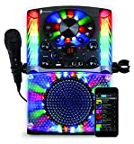 Singing Machine SML625BTBK Bluetooth CD+G Karaoke System Black