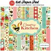Carta Bella Paper Country Kitchen 6 x 6 paper pad