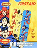 "Justice League 100CT Bandages 3/4x3"", DC Comics Offficial (Superman, Wonderwoman, Flash)"