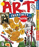 The Art Creativity Book: With Games, Cut-Outs, Art Paper, Stickers, and Stencils (Creativity Books)