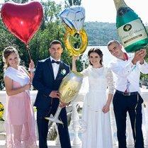 Ouinne-16-Pouces-Or-Rose-Hen-Party-Dcoration-Bride-to-be-Foil-Lettre-Ballons-Bachelorette-Fianailles-Fte