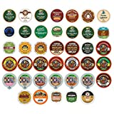 Custom Variety Pack Decaf Coffee Single Serve Cups for Keurig K Cup Brewers, 40 Count