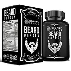 Beard Garden- The Ultimate Beard, Hair and Mustache Supplement. All-Natural Ingredients That Work! Quickly and Naturally Grow A Thicker, Fuller Beard and Mustache. The BEST Beard Vitamin Supplement.  Image 5