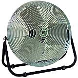 TPI Corporation F24-TE Industrial Workstation Floor Fan, Single Phase, 24' Diameter, 120 Volt