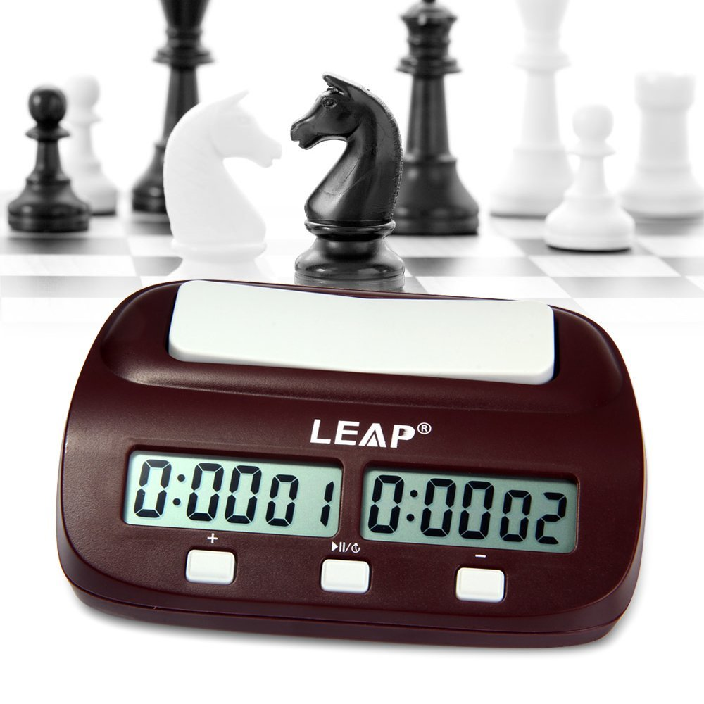 Robolife Professional LEAP PQ9907S Digital Chess Clock