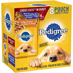 Pedigree Choice CUTS in Gravy Pouches 8