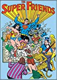 "Ata-Boy DC Comics The Super Friends 2.5"" x 3.5"" Magnet for Refrigerators and Lockers"
