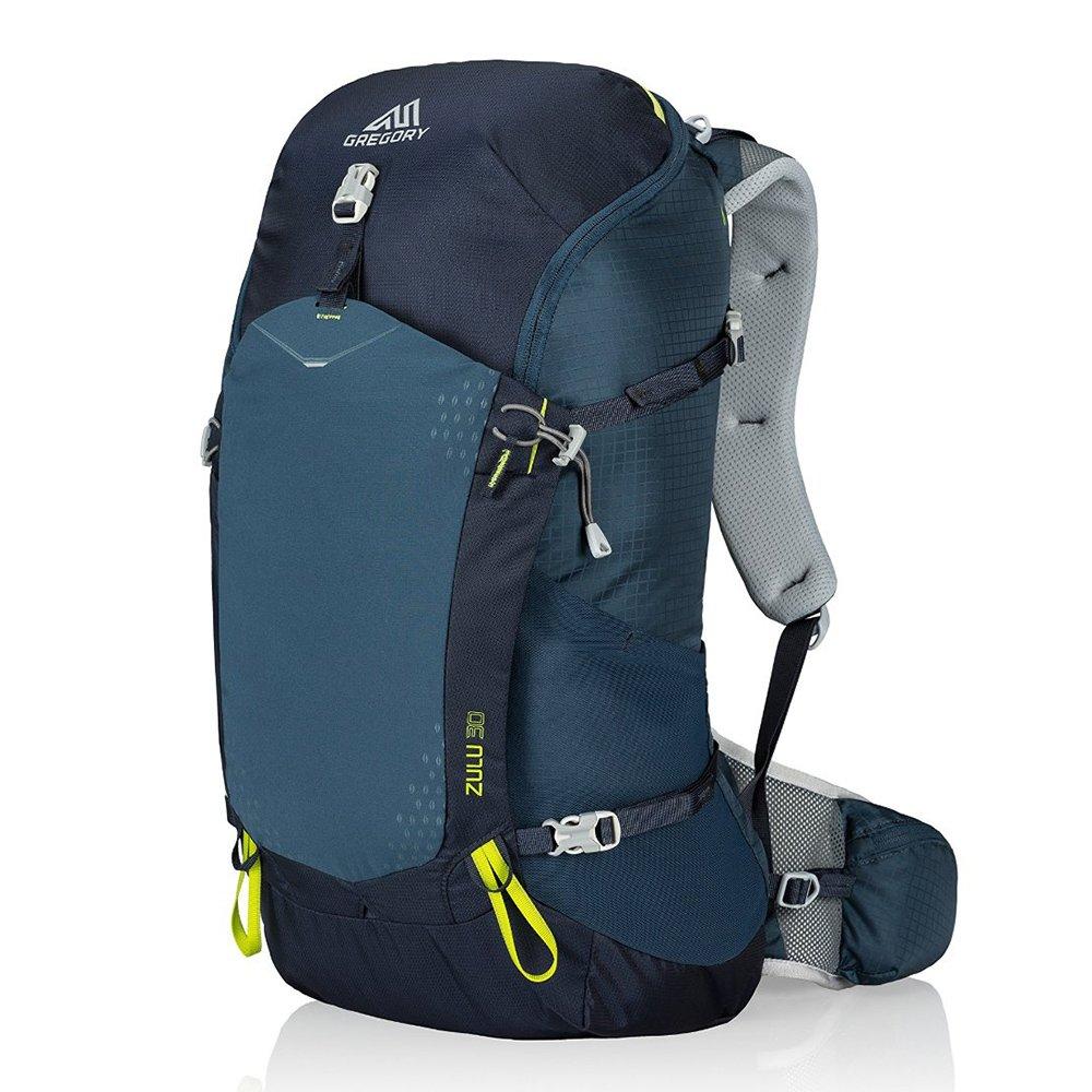 Gregory Mountain Products Zulu 30 Liter Men's Backpack, Navy Blue, Medium