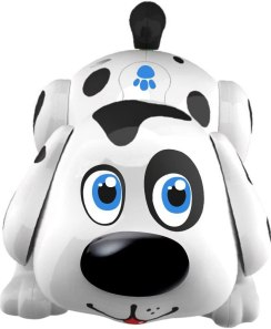 Electronic Pet Dog Harry - Interactive Puppy Toy Robot Responds to Touch, Walking, Chasing and Fun Activities. Batteries Included