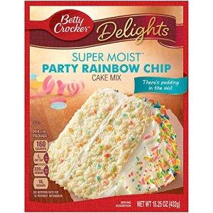 Betty Crocker Rainbow Cake Mix 432g pack of 1 61I7h9A15NL