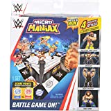 WWE Micro Maniax Battle Game with Two Bonus Figures