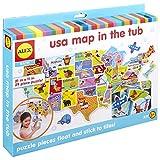 Alex Bath USA Map in The Tub