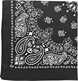 Product review of Classic Trainmen Paisley Bandanas, Military Army Head Scarf Do-rag Cotton Bandanna Cover Biker Rags
