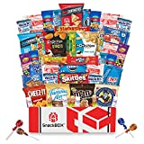 Care Package for College Students, Military, Father's Day, Finals or Back to School (50 Count) From Snack Box ...