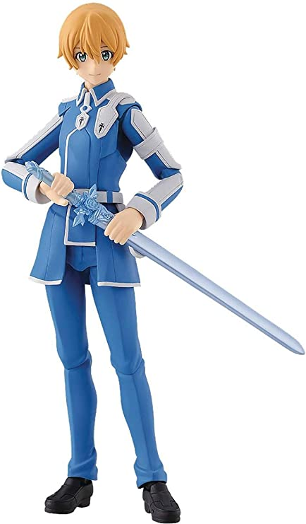 Amazon Com Max Factory Sword Art Online Alicization Eugeo Figma Action Figure Toys Games