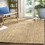 Safavieh Natural Fiber Collection NF747A Hand Woven Natural Jute Area Rug (9' x 12')