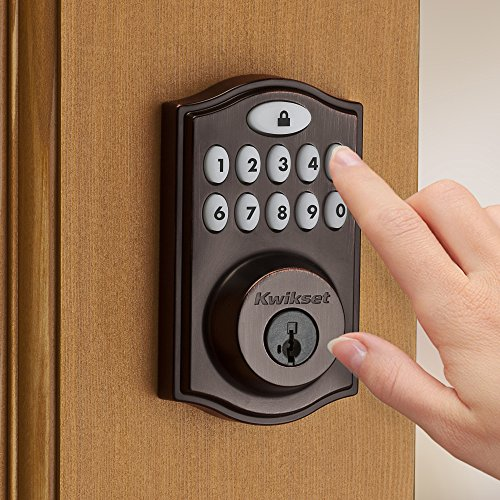 Kwikset-99140-009-Smartcode-914-Zigbee-Echo-Plus-and-Xfinity-Compatible-Touchpad-Smart-Lock-Works-with-Alexa-Featuring-Smartkey-in-Venetian-Bronze