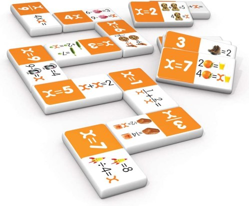 algebra dominoes math manipulative for high school