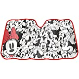 Minnie Mouse Expressions Faces Disney Auto Car Truck SUV Vehicle Universal-fit Front Windshield Sunshade - Accordion Sun Shade