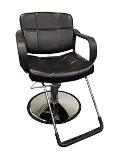 "20"" Wide Hydraulic Barber Chair DS-5001W"