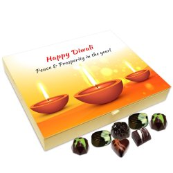 Chocholik Diwali Gift Box – Diwali is A Festival Full of Sweet Memories Chocolate Box – 20pc