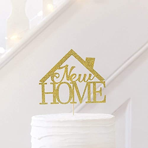 New House Moving Home Cake Topper Party Decoration Written New Home House Warming Gift Ideas New Home Gift Amazon Co Uk Handmade