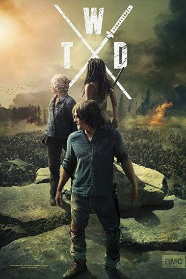 Amazon.com: GZCJHP The Walking Dead Poster Season 10~1 Zombie TV Series Art Silk Poster Canvas Print 13x20 24x36 inch for Room Decor Decoration-006 (13x20inch Silk): Posters & Prints
