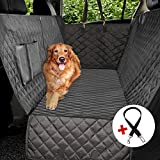 Vailge Dog Car Seat Covers, 100% Waterproof Scratch Proof Nonslip Dog Seat Cover, 600D Heavy Duty seat Cover for Dogs, Dog car Hammock Pet Seat Cover for Back Seat car Trucks SUV, Standard