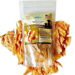 Loyal Paws Dog Jerky Treats – Premium Chicken – Dog Treats Made in USA Only. All Natural – Healthy, No Preservatives, Grain Free – Great for Training!