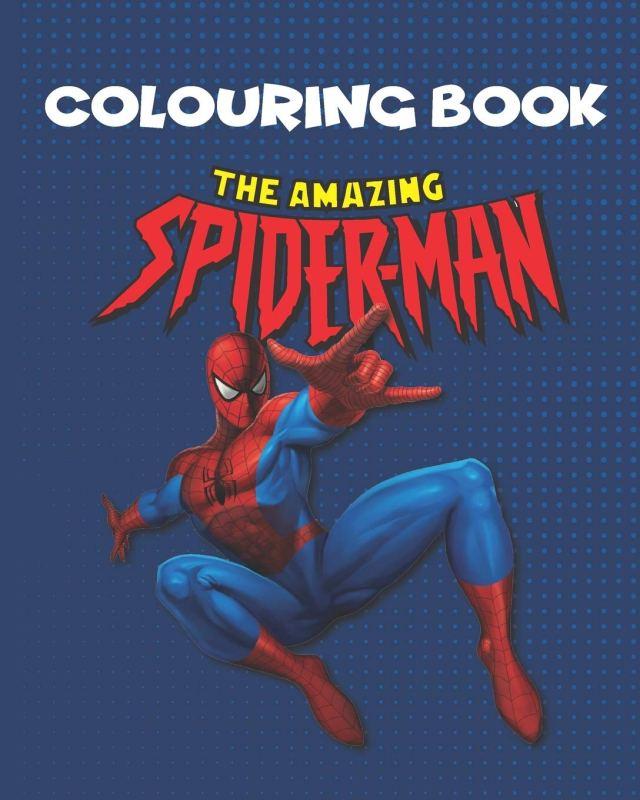 Amazon.com: The Amazing Spider-man Coloring Book: 24