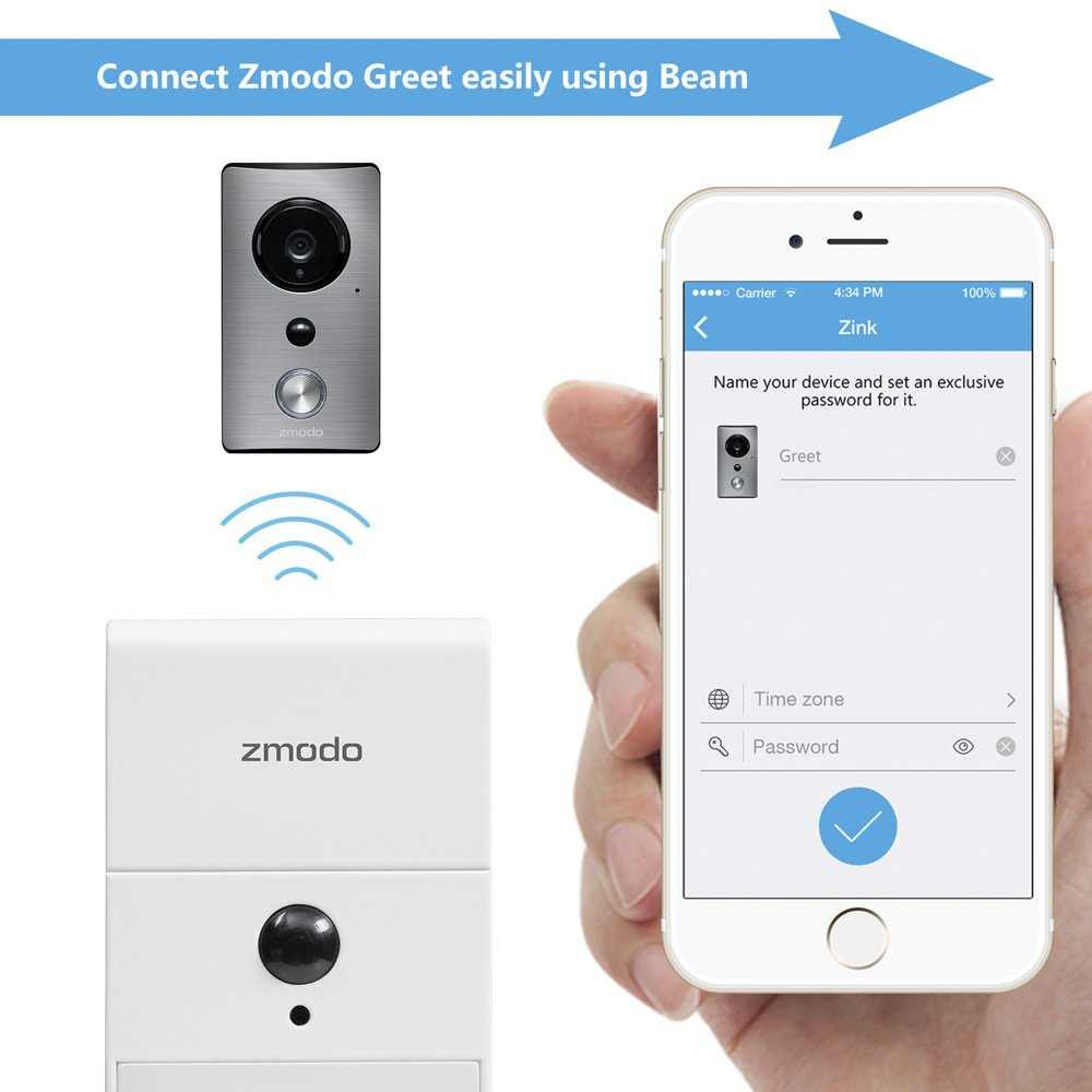 Zmodo Greet Wi-Fi Video Doorbell
