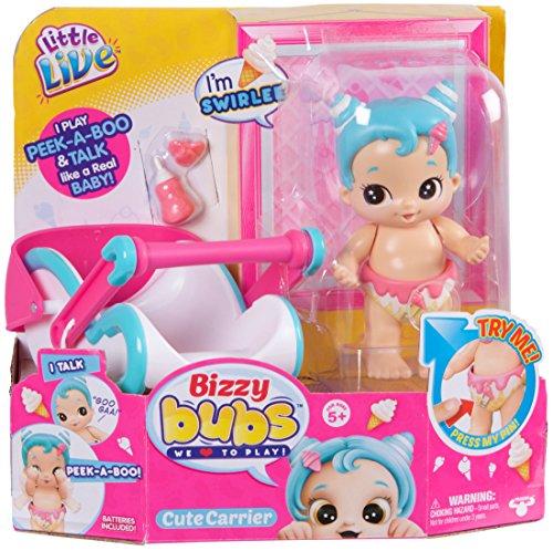 Little Live Bizzy Bubs Peek-A-Boo Baby Swirlee