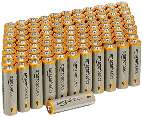 AmazonBasics Performance Alkaline Batteries